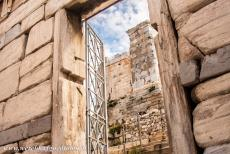 Acropolis of Athens - Acropolis of Athens: The Beulé Gate is located at the foot of the steep stone stairway leading up to the Acropolis. Visitors to the...