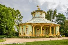 Palaces and Parks of Potsdam and Berlin - Palaces and Parks of Potsdam and Berlin: The Chinese House is a garden pavilion in Sanssouci Park, built in 1754-1757. The Chinese House is...