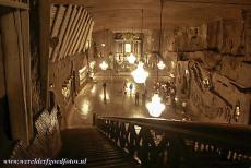 Wieliczka and Bochnia Royal Salt Mines - The Chapel of St. Kinga is the most beautiful chapel of the Wieliczka Salt Mine, it lies more than 100 metres below the surface, is 54 metres long...
