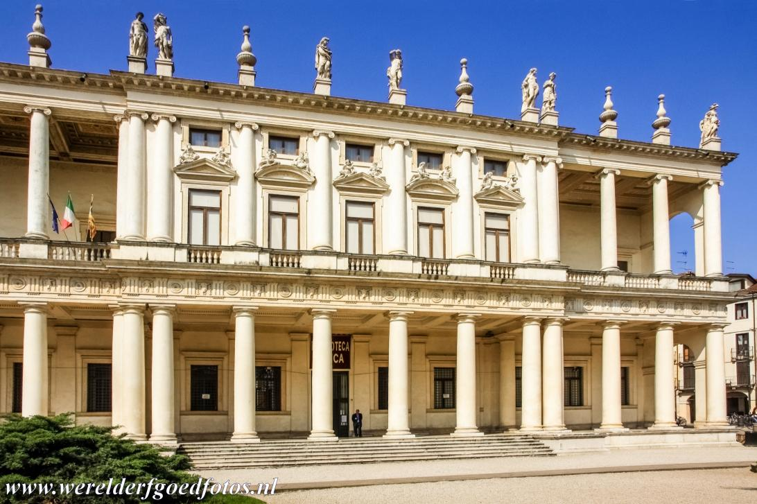 Vicenza and the Palladian Villas of the Veneto - City of Vicenza and the Palladian Villas of the Veneto: The main façade of the Chiericati Palace. The Palazzo Chiericati was designed...
