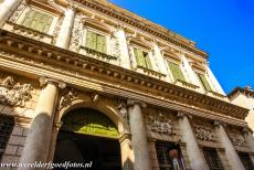 Vicenza and the Palladian Villas of the Veneto - The Palazzo Barbaran da Porto in the city of Vicenza was built between 1569 and 1575 for the Vicentine nobleman Montano Barbarano....