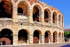 City of Verona - City of Verona: The amphitheatre of Verona or the Verona Arena was completed in 30 AD. The amphitheatre of Verona could accommodate 30000...