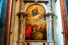 City of Verona - City of Verona: The Cappella Nichesola is one of three chapels of Verona Cathedral, the chapel houses the altarpiece the Assumption of the...