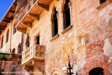 City of Verona - City of Verona: Juliet's balcony. Verona is the city of Romeo and Juliet. Although Romeo and Juliet were fictional persons, in Verona is...