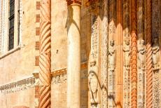 City of Verona - City of Verona: The porch of Verona Cathedral, the Santa Maria Matricolare, is supported by two griffons. The statues of the portal depict...