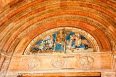 City of Verona - City of Verona: The official name of the Verona Cathedral is the Santa Maria Matricolare. The tympanum above the main portal depicts the...