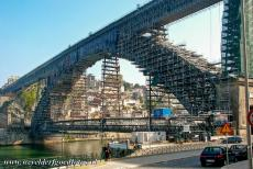 Historic Centre of Porto - Historic Centre of Porto: The Dom Luis I Bridge was opened in 1886 and is the most famous bridge of Porto. The bridge spans the Douro between...