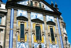 Historic Centre of Porto - Historic Centre of Porto: The decorated façade of the São Bento Railway Station. São Bento is decorated...