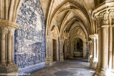 Historic Centre of Porto - Historic Centre of Porto: The Gothic cloister of the Sé do Porto, the Porto Cathedral, was built in the 14th century. The cloister walls...