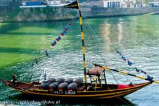 Alto Douro Wine Region - The traditional Rabelo boats were used to transport the wine barrels from the Alto Douro Wine Region down the river Douro to the city of...