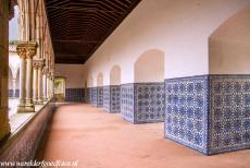 Convent of Christ in Tomar - Convent van Christus in Tomar: The upper level of the Claustro da Lavagem, the Washing Cloister. The construction of the Washing...