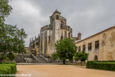 Convent of Christ in Tomar - The Round Church of the Convent of Christ in Tomar. The Convent of Christ was a stronghold and monastery of the Knights Templar....