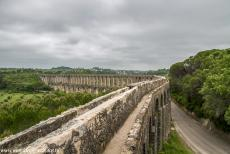 Convent of Christ in Tomar - Convent of Christ in Tomar: The Pegões Aqueduct transported fresh water from several natural springs in the mountains close to...