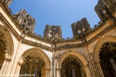 Monastery of Batalha - Monastery of Batalha: The Capelas Imperfeitas, the Unfinished Chapels. The monastery was never completely finished, because in the...